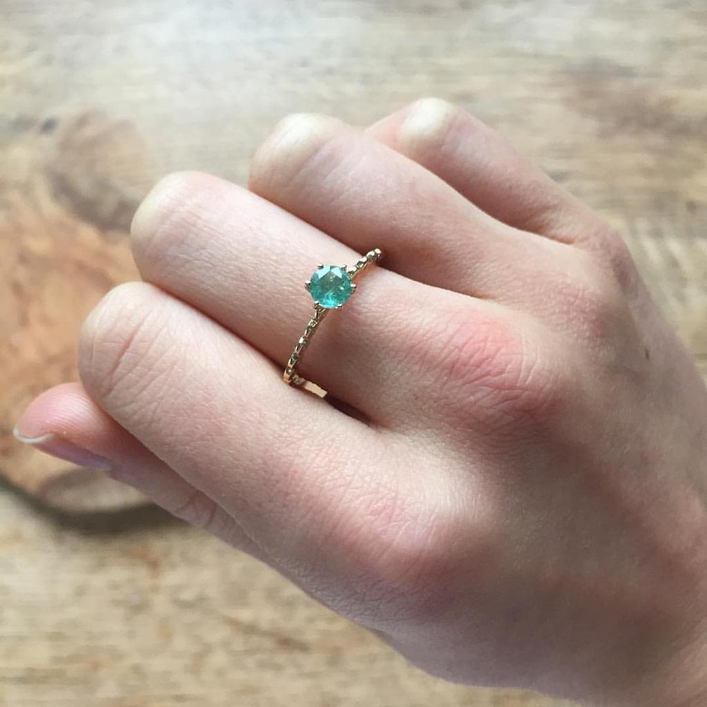 gemporia emerald ring