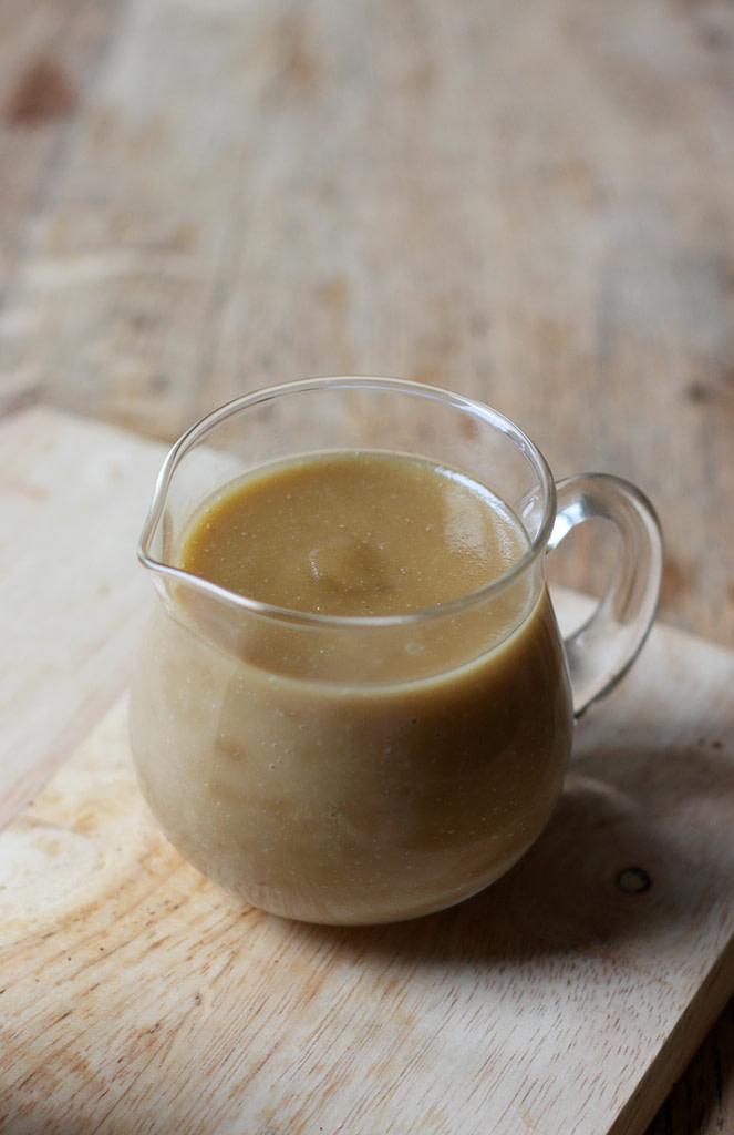 ginger butterscotch sauce